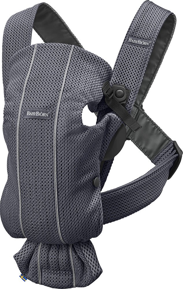 BABYBJORN Baby Carrier Mini in 3D Mesh, Anthracite