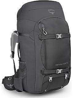 Osprey Farpoint Trek 75, Mens Travel Pack - Black O/S: Amazon.es ...