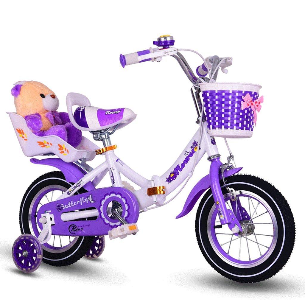 自転車 折りたたみ子供用自転車ガール12/14/16/18/20インチ (サイズ さいず : 20 inch) B07DPN4L2K 20 inch 20 inch