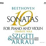 ベートーヴェン : ヴァイオリン・ソナタ全集 II (Beethoven : 10 Sonatas for Piano and Violin Complete Vol.2 / Joseph Szigeti (violin) & Claudio Arrau (piano)) [2XRCD] [Live Recording]