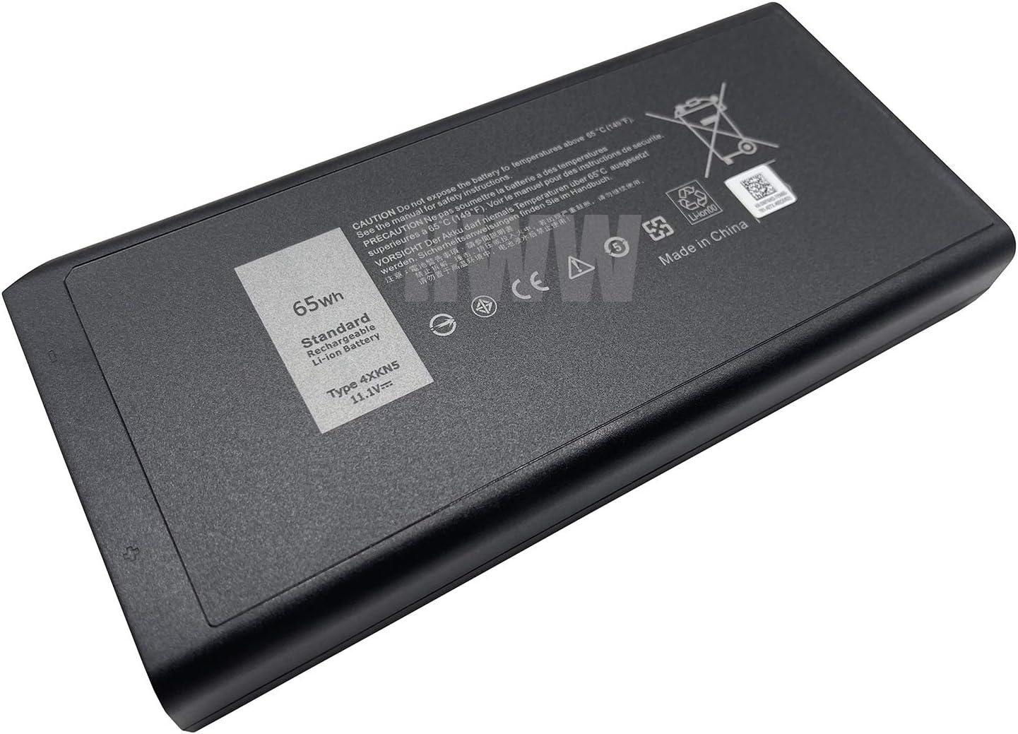 New 11.1V 65Wh 4XKN5 CJ2K1 Battery Compatible with Dell Latitude E5404 E7404 X8VWF Series