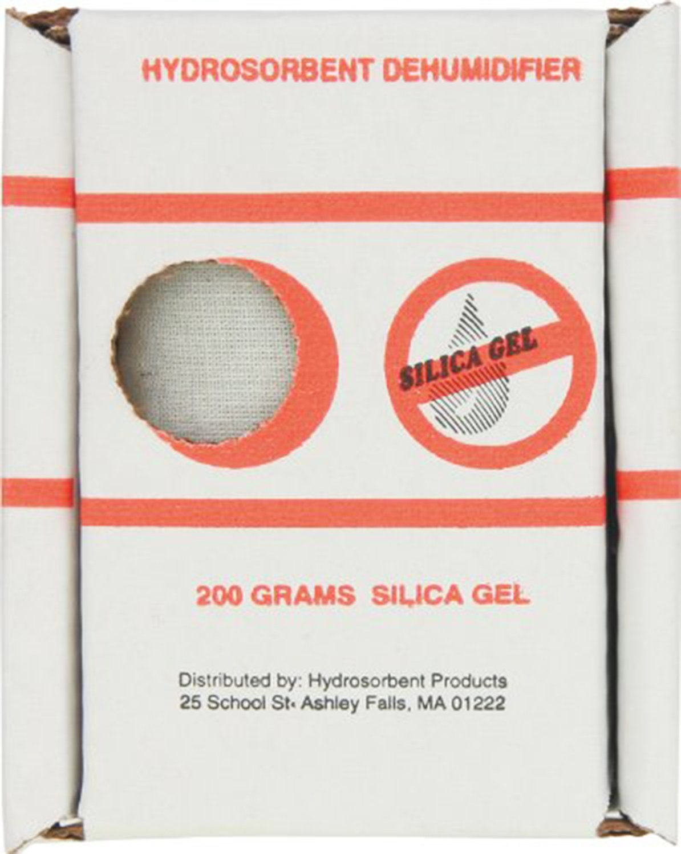 Hydrosorbent Silica Gel Dehumidifier 200 Gram Reuseable [Misc.] Quality Deals SG-200