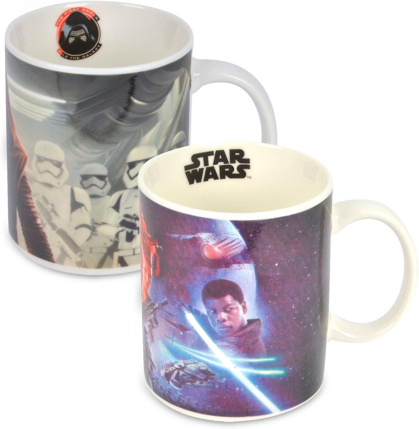 Ideal casa Pack de 2 Tazas. Mugs de Star Wars 325ml Porcelana New ...