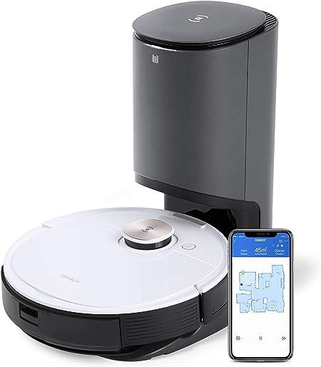 ECOVACS Deebot Ozmo T8 + Robot Aspirador y Limpiador con estación de autovaciado: Amazon.es: Hogar