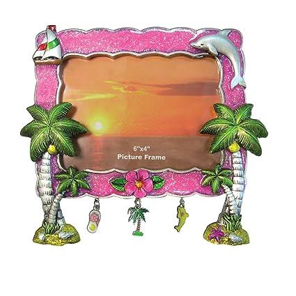 Amazon Rockin Gear Picture Frame Palm Trees 8 X 10 Glitter
