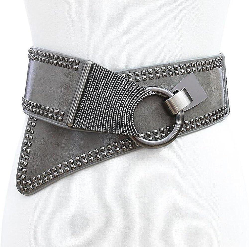 Oyccen Se/ñoras Cinturones Ancho Mujer Vestido El/ástico Cors/é Cintur/ón
