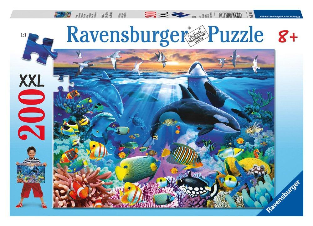 Todos los productos obtienen hasta un 34% de descuento. Ravensburger 12663 Mundo Mundo Mundo submarino - Puzzle (200 piezas)  edición limitada en caliente