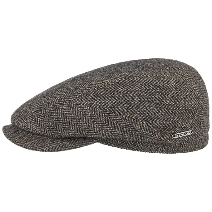 3c8354d4a Stetson Belfast Woolrich Flat Cap Men | Made in Germany caps Ivy hat ...