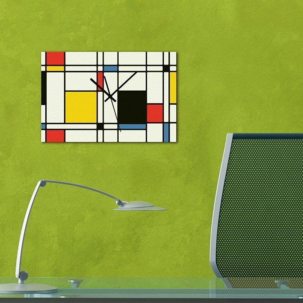 (リムピドゥ)LIMPID Design WALL CLOCK フレームがない アナログタイプ 無騒音 連続秒針 インテリア掛け時計 Jhd-022 B07CCKXW61