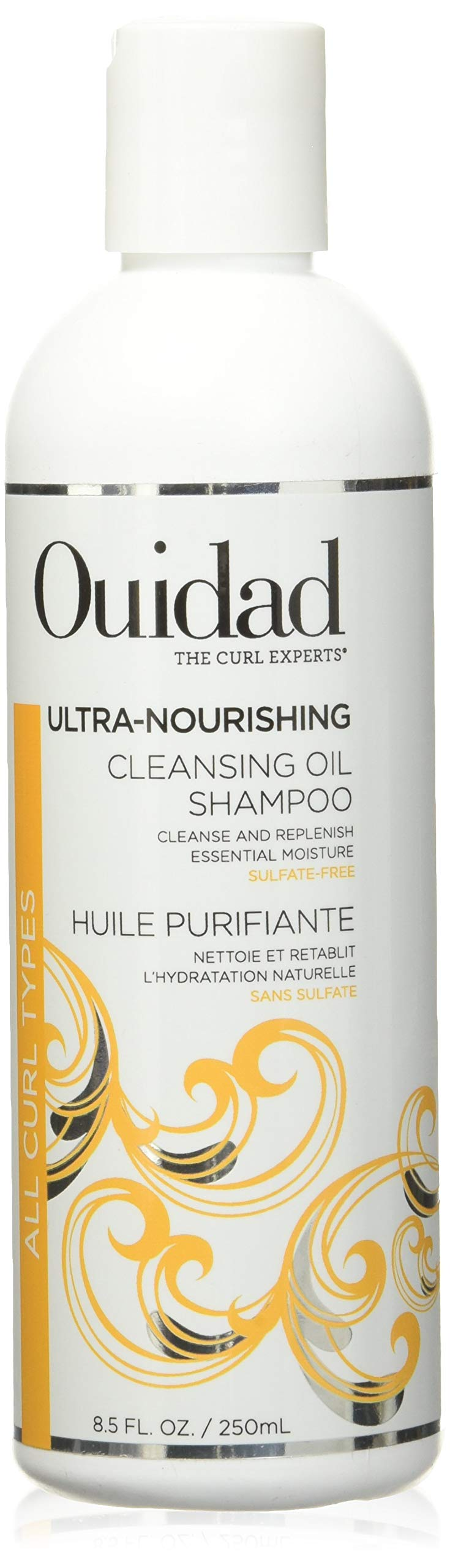 OUIDAD Ultra-nourishing Cleansing Oil Shampoo, 8.5 Fl oz