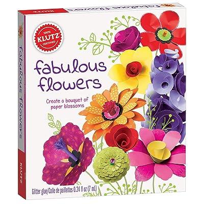 Klutz Fabulous Flowers Craft Kit: Toys & Games