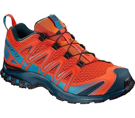 Salomon XA Pro 3D W, Trail Running - Zapatos de, Rojo, EU 42,5: Amazon.es: Deportes y aire libre