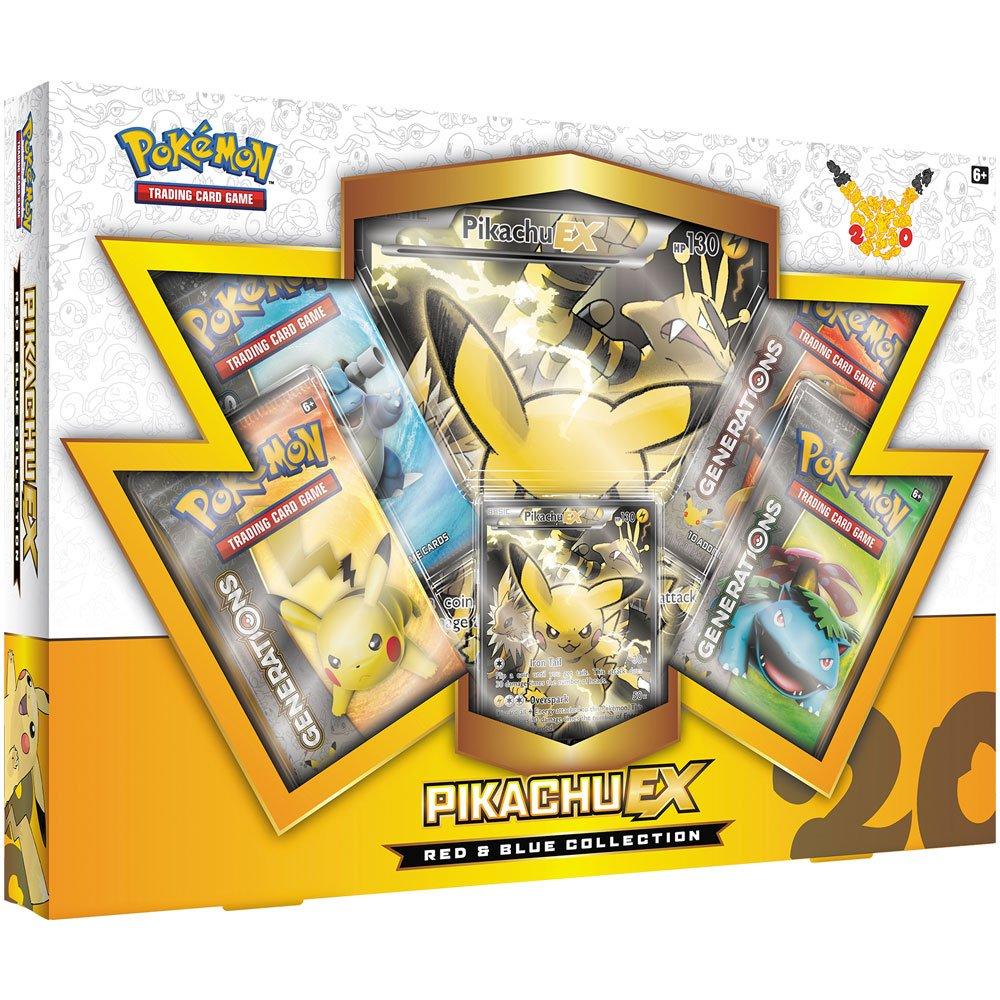 Pikachu-EX Colecci/ón de Pok/émon Rojo y Azul