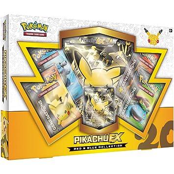 Pikachu-EX Colección de Pokémon Rojo y Azul: Amazon.es ...