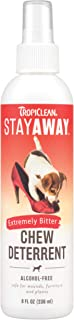 product image for TropiClean Stay Away Pet Chew Deterrent Spray, 8oz - Made in USA