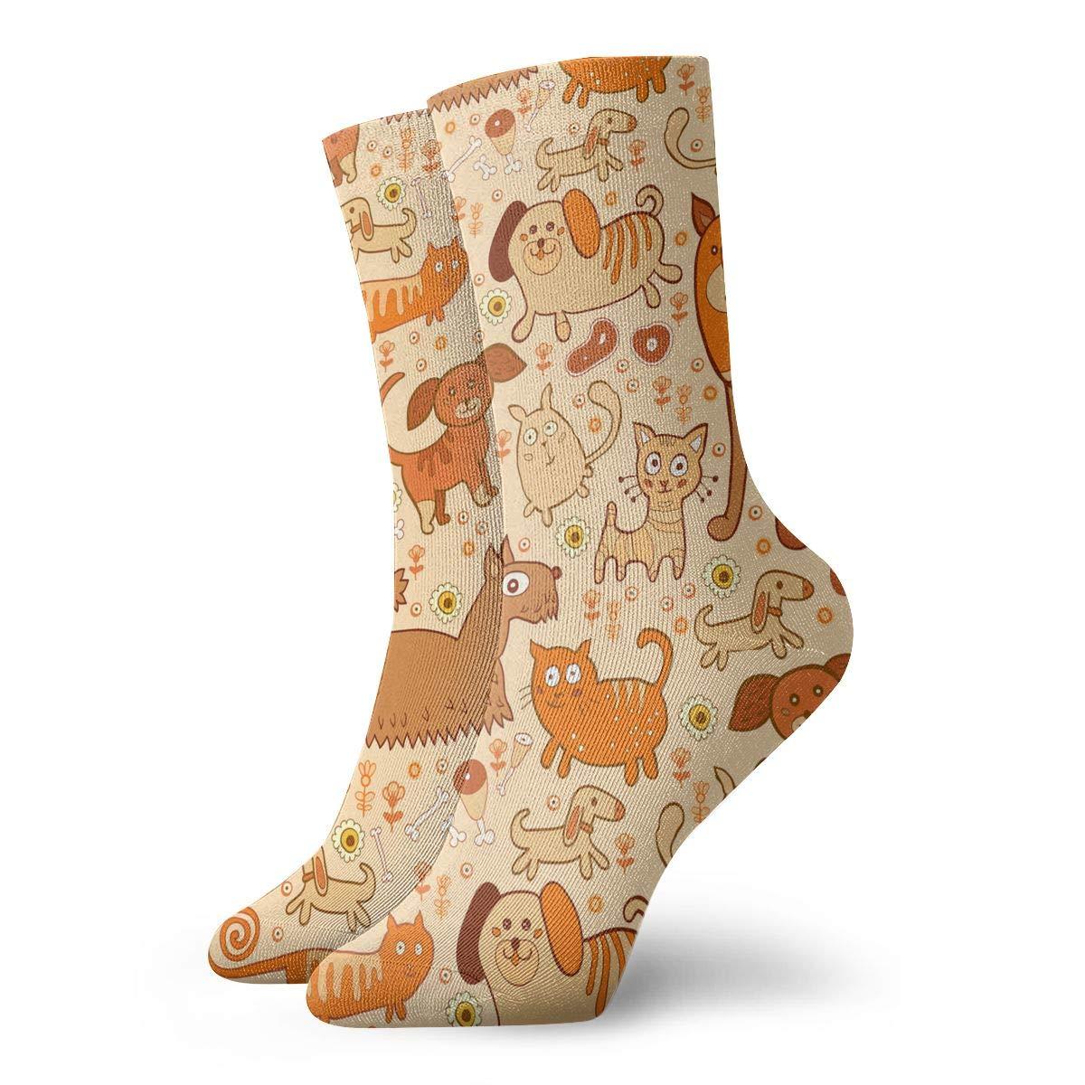 Unisex Good Dachshund Dog Athletic Quarter Ankle Print Breathable Hiking Running Socks