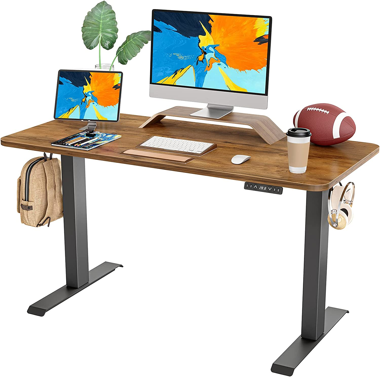 FAMISKY Dual Motor Adjustable Height Electric Standing Desk