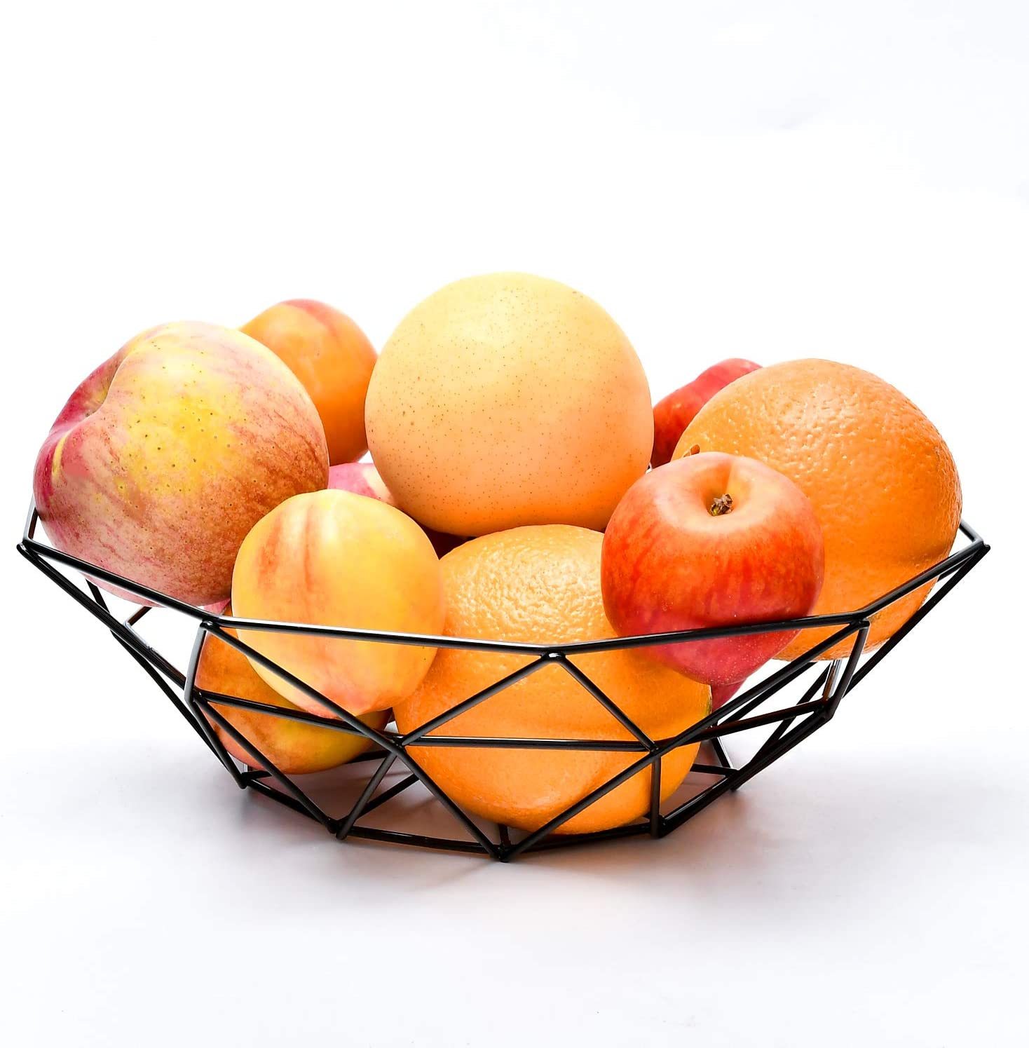 Creative Fruit Bowl, Basket Holder for Kitchen Counter, Table Centerpiece Decorative, Living Room, Home Décor, Modern Stylish Rack for Fruit and Vegetable