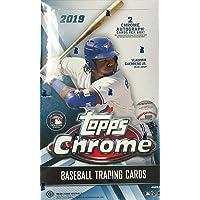 $127 » 2019 Topps Chrome MLB Baseball HOBBY box (24 pks/bx, TWO Autograph cards)
