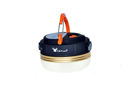 Amazon.com : G & F 2 in 1 LED Lantern + Rechargeable Power Bank, Ultra Bright 180 Lumens Rechargeable Portable LED Camping and Emergency Lantern.