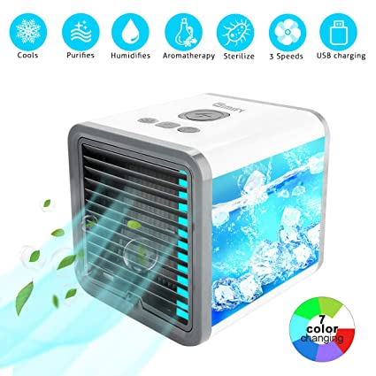 KKCITE Portable Air Cooler,3 in 1 Air Cooler,Humidifier