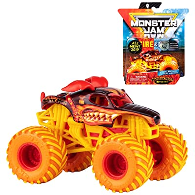 Monster Mutt Rottweiler Fire & Ice Monster Jam Exclusive: Toys & Games