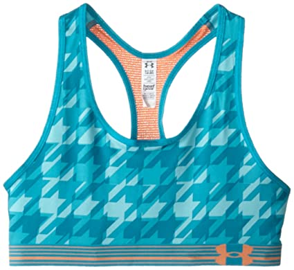 9acc4aff72936 Amazon.com  Under Armour Girls  HeatGear Armour Printed Sports ...
