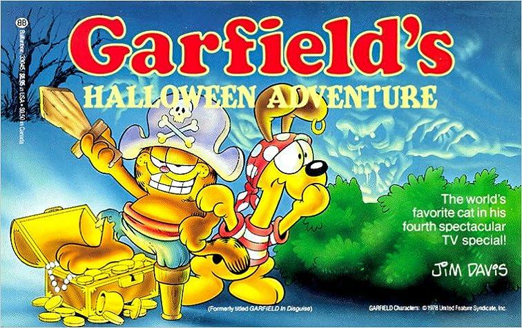 garfields halloween adventure jim davis 9780345330451 amazoncom books