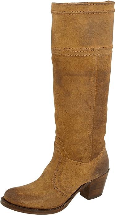 FRYE Jane 14L 14L 14L Stitch Botas de cuero para mujer color marrón b6b2f9