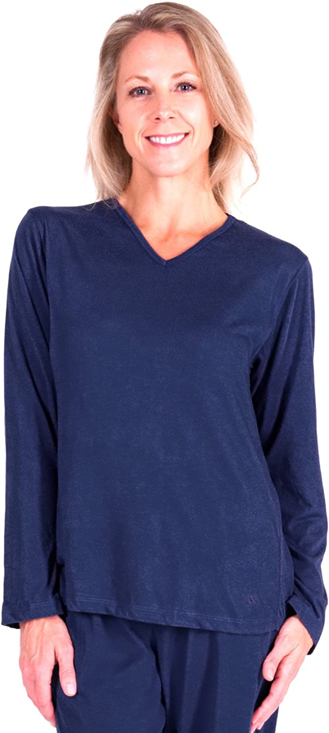 Cool-jams Moisture Wicking Mix and Match Long Sleeve T-Shirt Separate