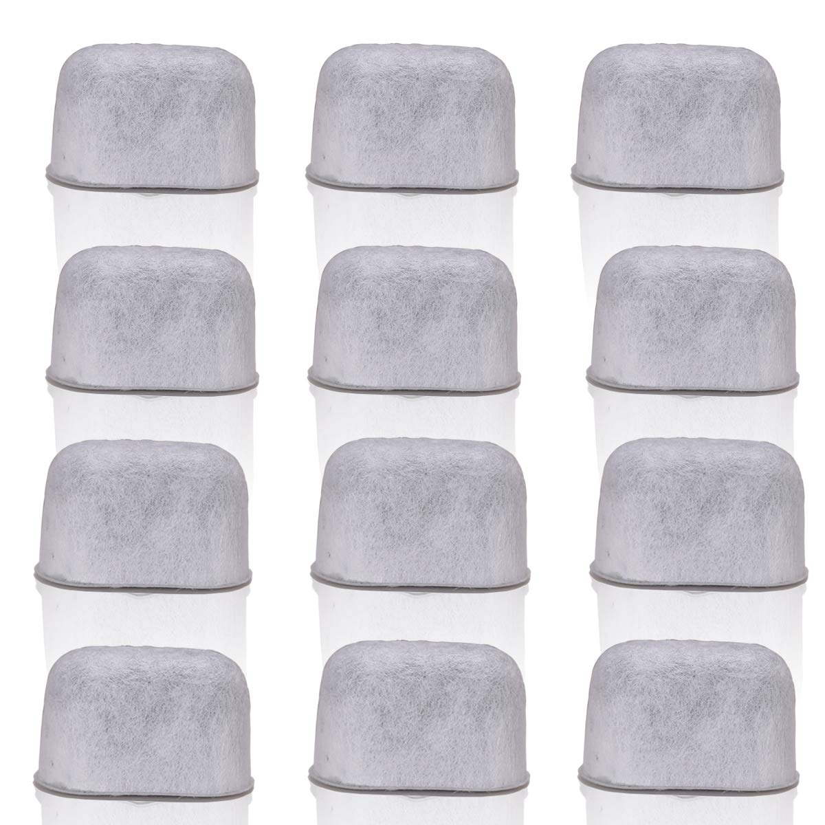 ALTME Keurig Coffee Filter Replacement 12 Pack Compatible Water Filters Universal Fit Keurig Compatible Filters Replacement Charcoal Water Filters for Keurig 2.0 and Classic 1.0 Coffee Machines