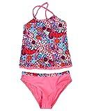 DUSISHIDAN Kid Girl Lovely Two-Piece Swimsuits
