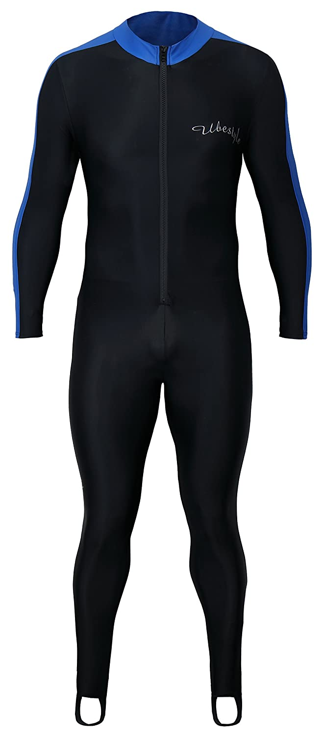 8b63463bf3 Amazon.com  Ubestyle Lycra Full Body Sports Skins Rash Guard Swimsuit -  Diving Snorkeling Swimming  Clothing