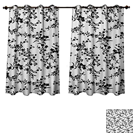 Amazon Com Rupperttextile Floral Bedroom Thermal Blackout Curtains