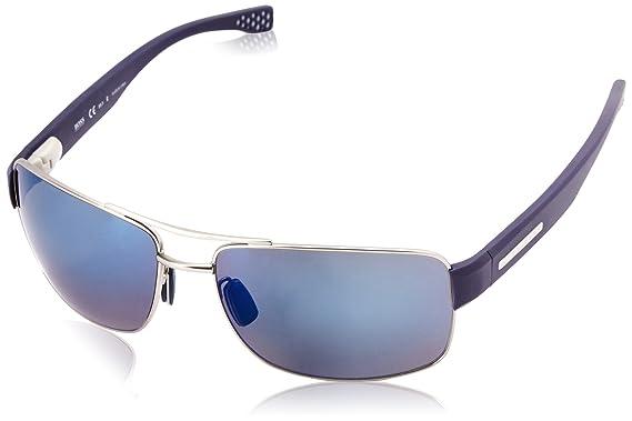 BOSS Hugo Boss Hugo Boss Herren Sonnenbrille Boss 0801/S 7N Z0Q, Blau (Dkruth Bluette/Gryblspsl Pz Coral), 63