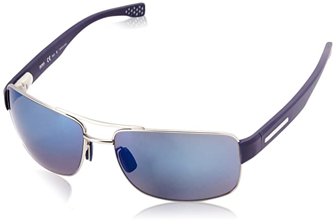 Boss Unisex-Adults 0801/S 6C Sunglasses, Matte Black, 63 HUGO BOSS