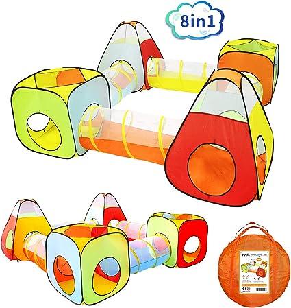 Amazon.com: Yoobe - Tienda de campaña para niños con tienda ...