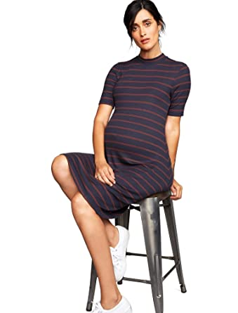 9b31beaf115 A Pea in the Pod Rib Knit Maternity Dress at Amazon Women s Clothing store
