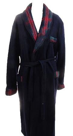 8a49f9b81f5fff Val d'Arizes Laine des Pyrénées - Robe de chambre homme laine des Pyrénées  marine