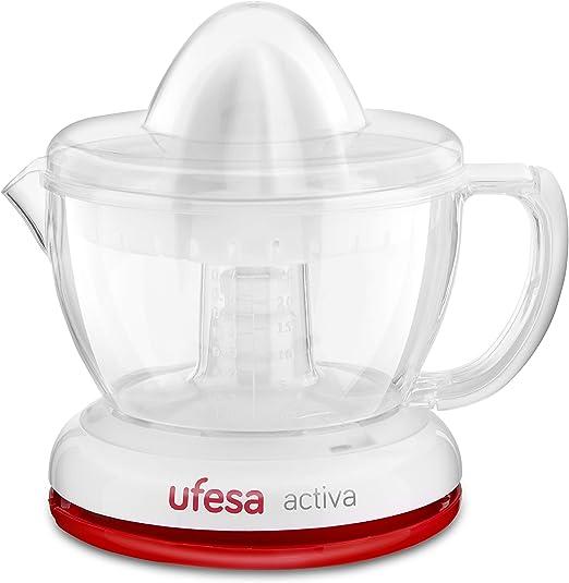 Ufesa EX4936 - Exprimidor eléctrico con 2 conos de tamaños ...