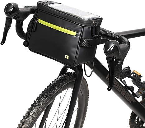 borsa anteriore al manubrio isle of skye verde BR122V BROOKS bicicletta