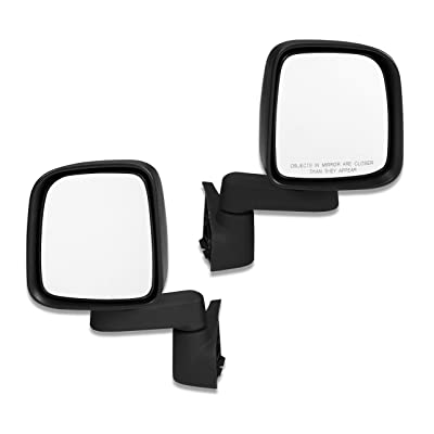 Bestop 5126101 HighRock 4x4 Replacement Mirror Set for Wrangler 1988-2006: Automotive