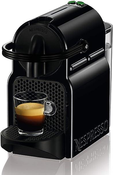 Nespresso De'Longhi Inissia EN80.B Cafetera monodosis de cápsulas Nespresso, 19 bares, apagado automático, color negro