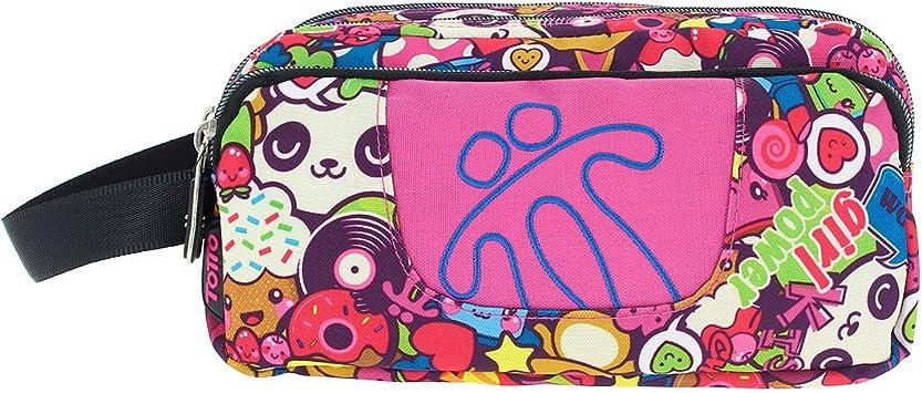 Totto - Estuche escolar tres compartimentos (23 cm) - Ultrarresistente - Agapec: Amazon.es: Oficina y papelería