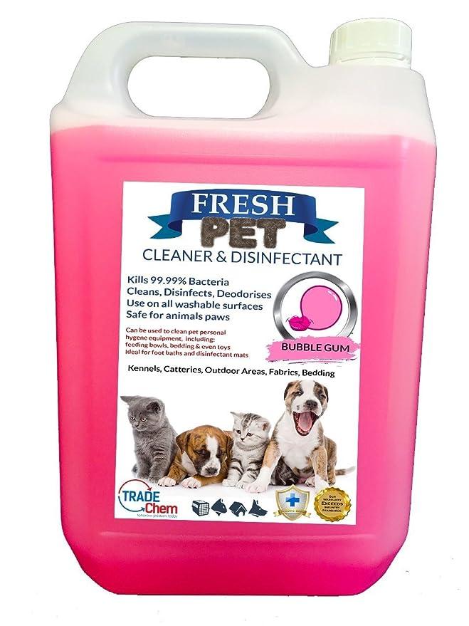 Desinfectante y ambientador para casetas de mascotas, 5 litros: Amazon.es: Productos para mascotas