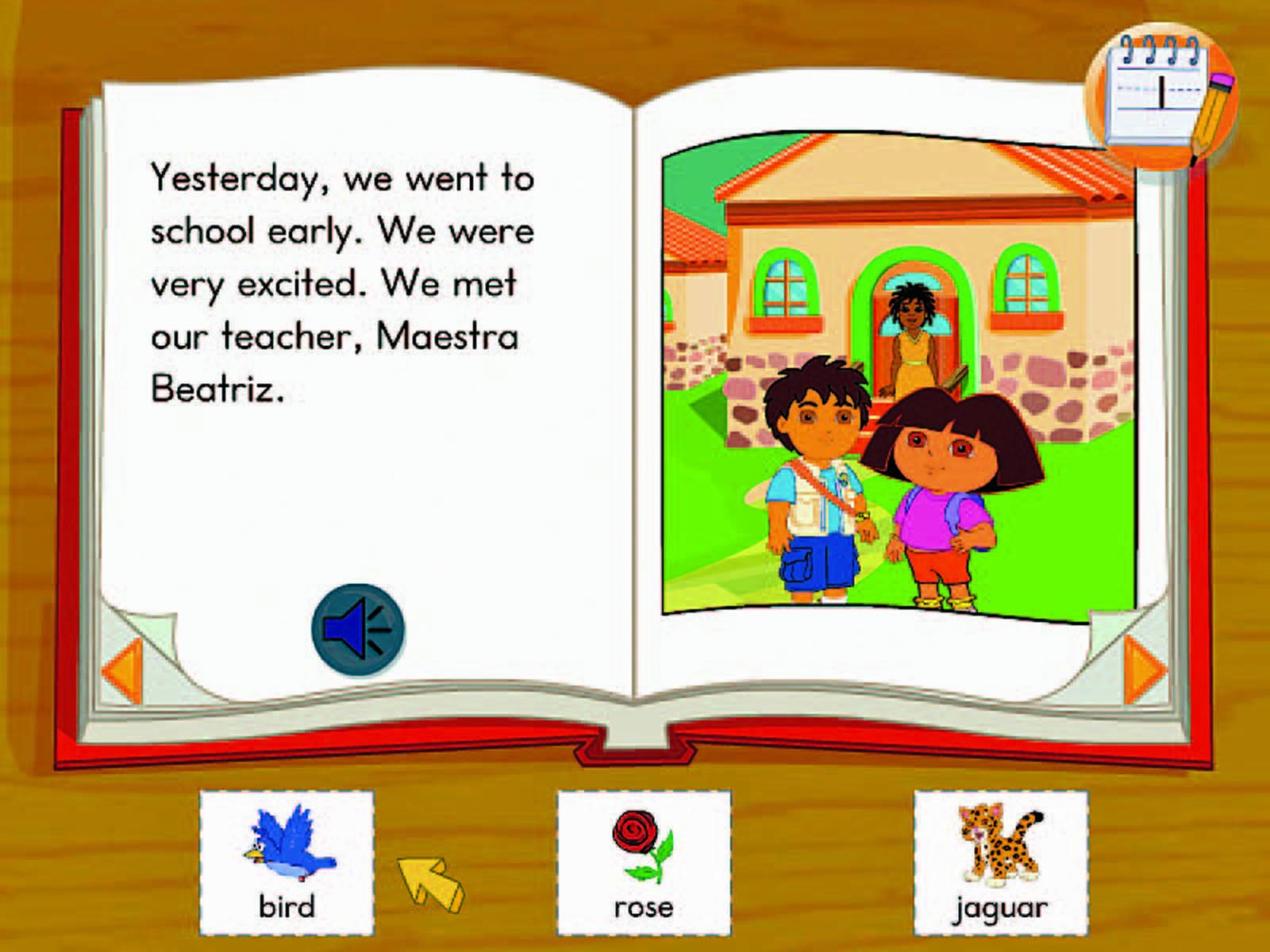 Fisher-Price Fun-2-Learn Computer Cool School Dora and Diego Software by Fisher-Price (Image #4)