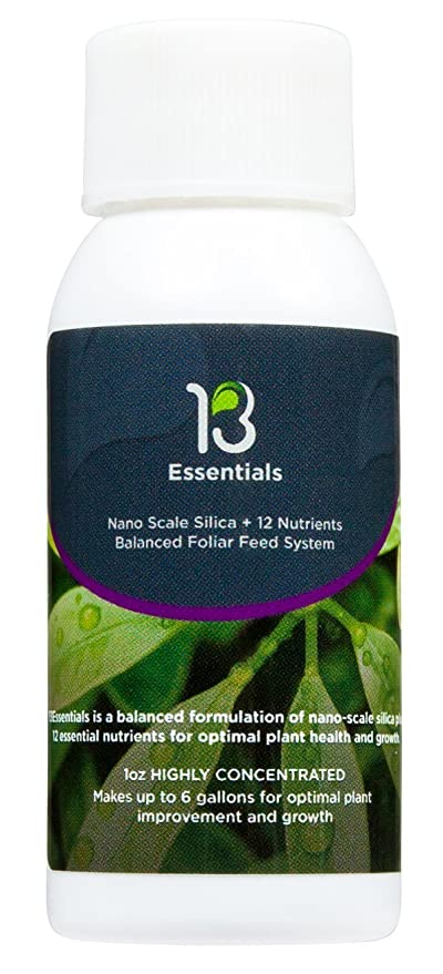 13Essentials - Foliar Spray Fertilizer, Food for Stunning Growth and  Healthier Plants, Non-Toxic, Yield Maximizer - Liquid Fertilizer for Indoor  and