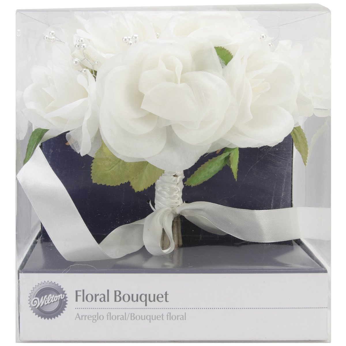 Amazon.com: Wilton French Rose Wedding Bouquet, Natural: Cake Boxes ...