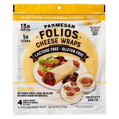 Folios All natural 100% Parmesan Cheese Wraps