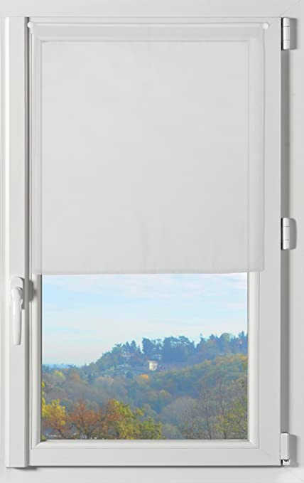 Lovely Casa RA51290001 Lisa - Coppia di tende a vetro in poliestere ...